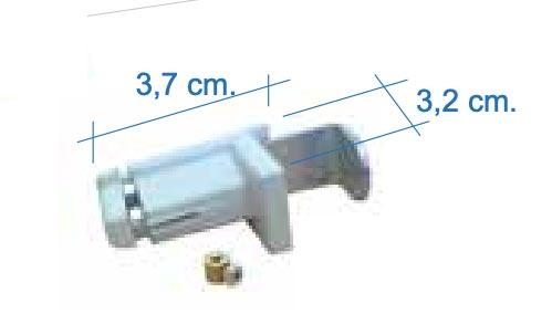 Clip inferior para guia de cable