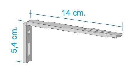 Escuadra 14cm