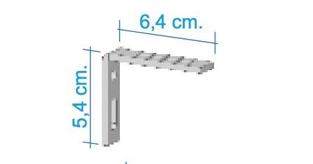 Escuadra 6cm